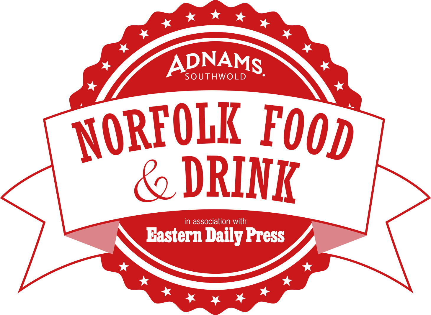 Norfolk Food & Drink Logo (red)