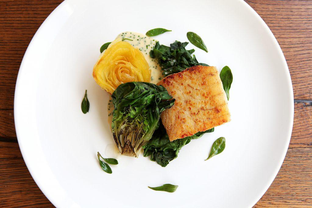 Fish dish at Benedicts