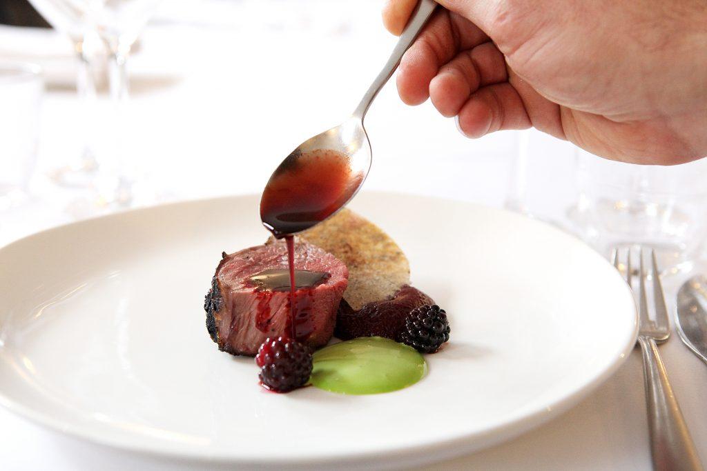 Richard Bainbridge's venison dish