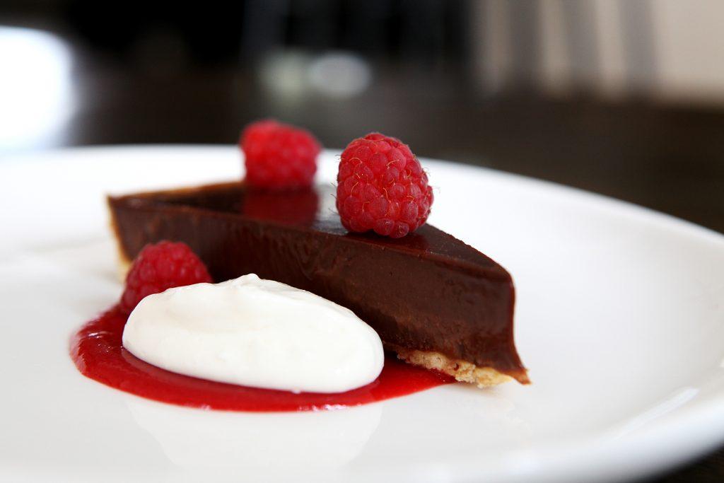 Chocolate dessert at Benedicts
