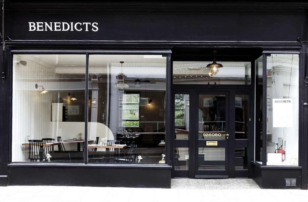 Benedicts restaurant in Norwich