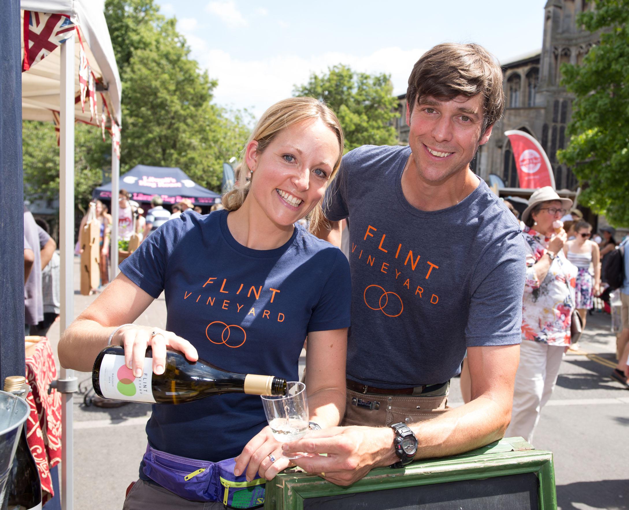 Hannah & Ben Norwich Food & Drink Festival 1