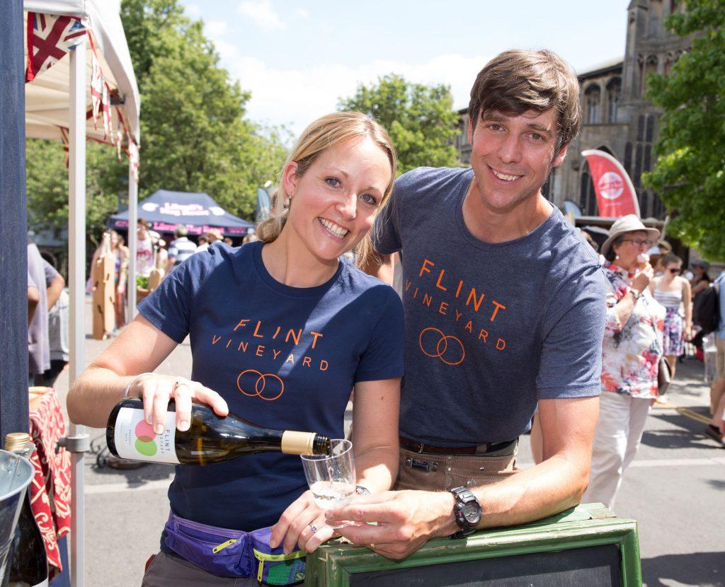 Hannah & Ben Norwich Food & Drink Festival