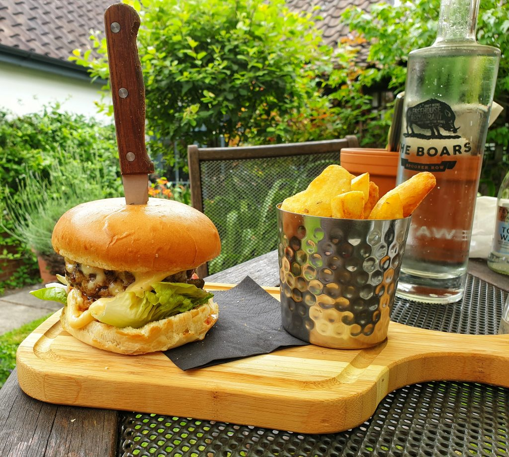 The Boars Burger