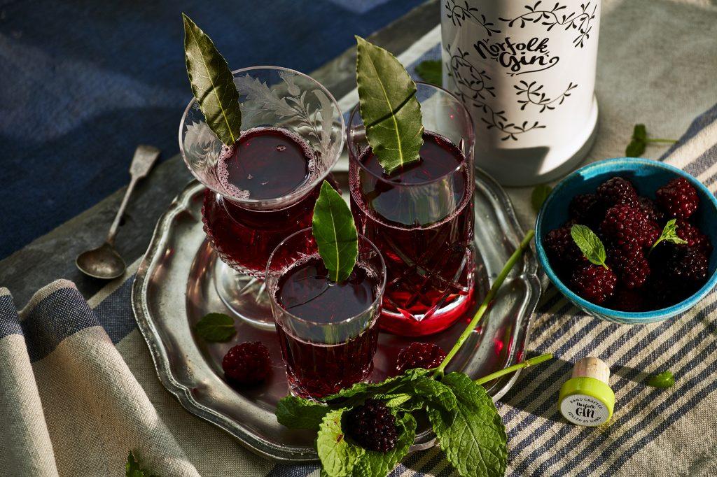 small Bramble cocktail
