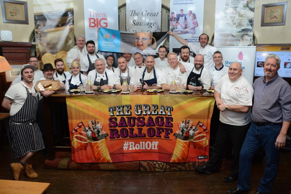 The Great Sausage Roll Off competitors