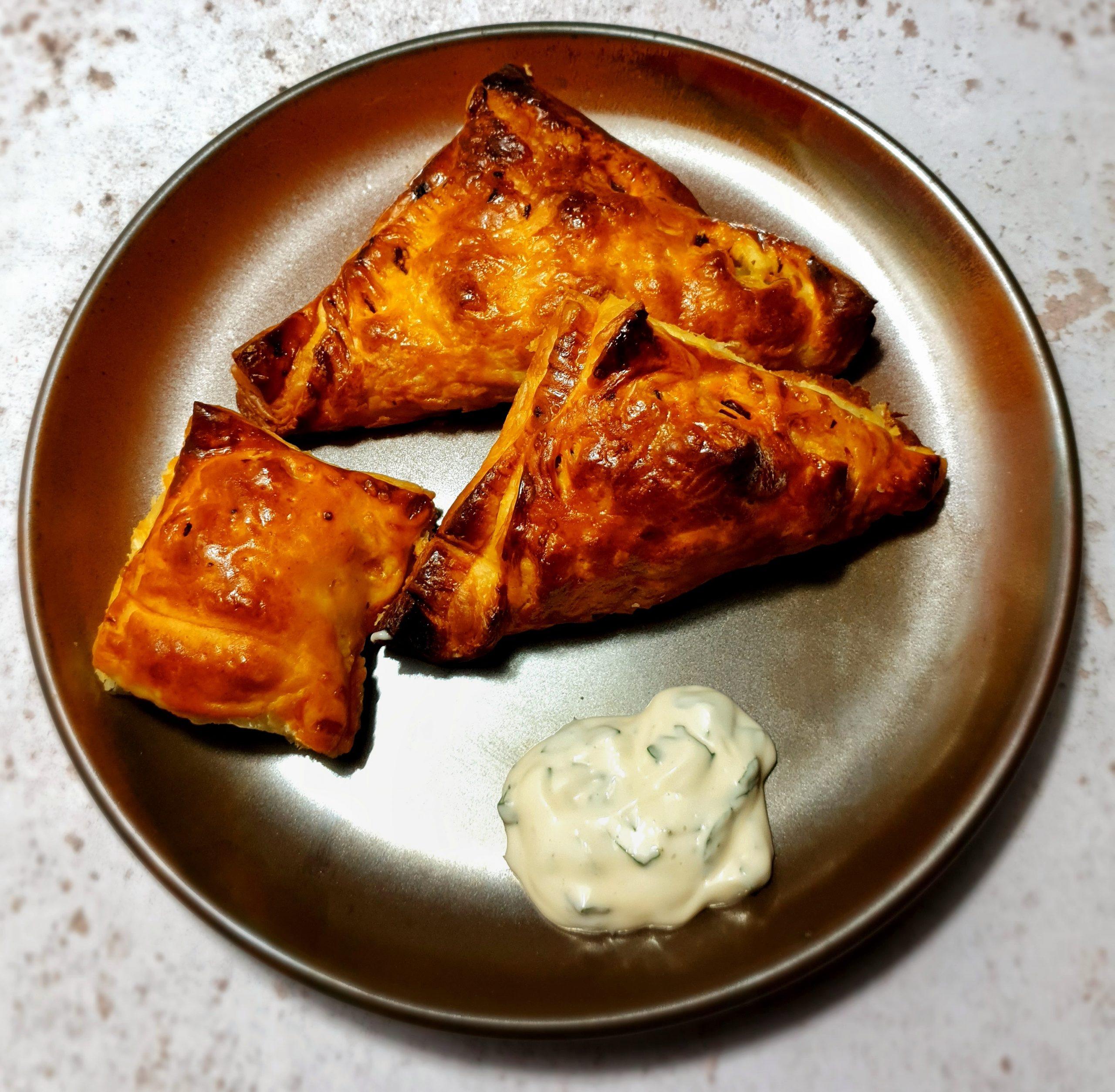 Sweet potato chorizo empanadas