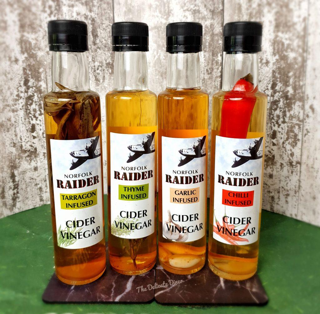 Norfolk Raider Apple Cider vinegars dressings health marinades
