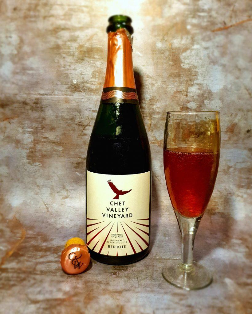 Chet Valley Vineyard Red Kite Sparkling Red Wine