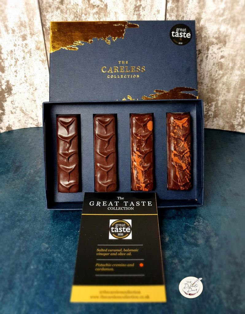 The Careless Collection MasterChef chocolate