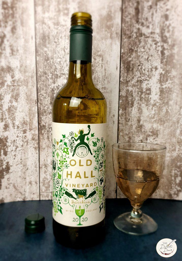 Old Hall Farm Bacchus English wine Norfolk