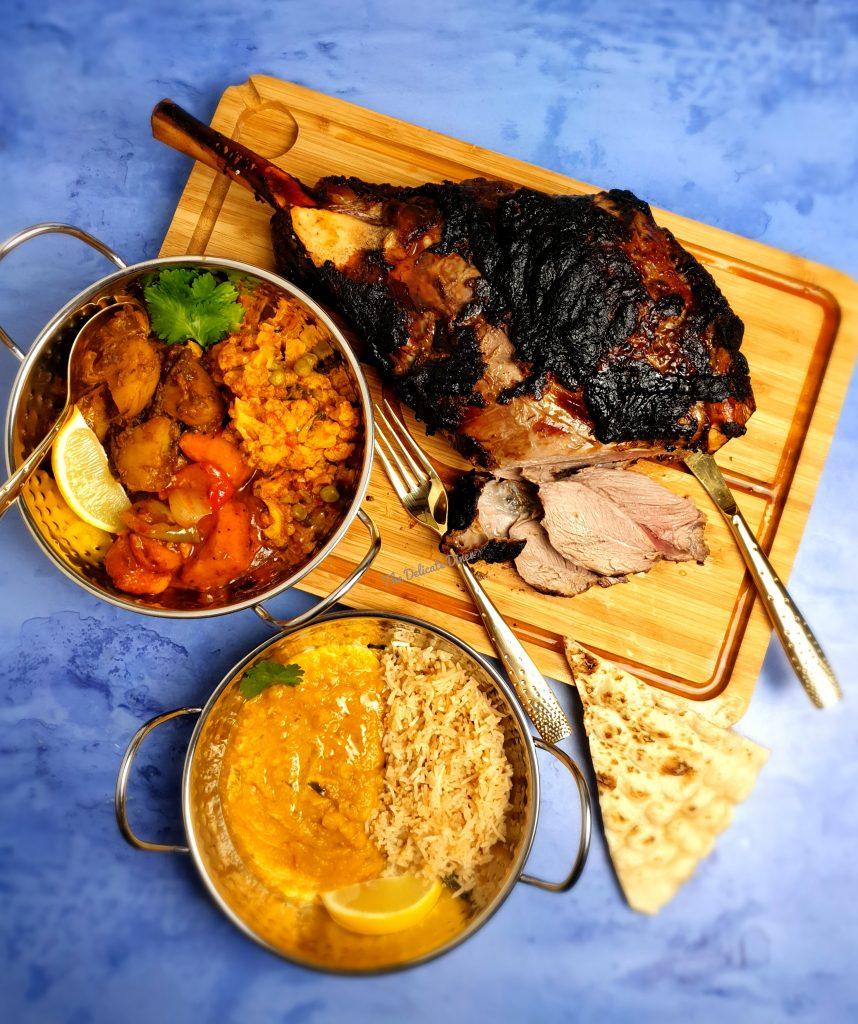 Aktar at Home Great British Menu lamb The Delicate Diner nourish magazine Aktar Islam